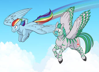 A Dash of Awesomeness by MLP-Trinary