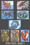ACEOs - Batch 1 by Xeroxed-Animus