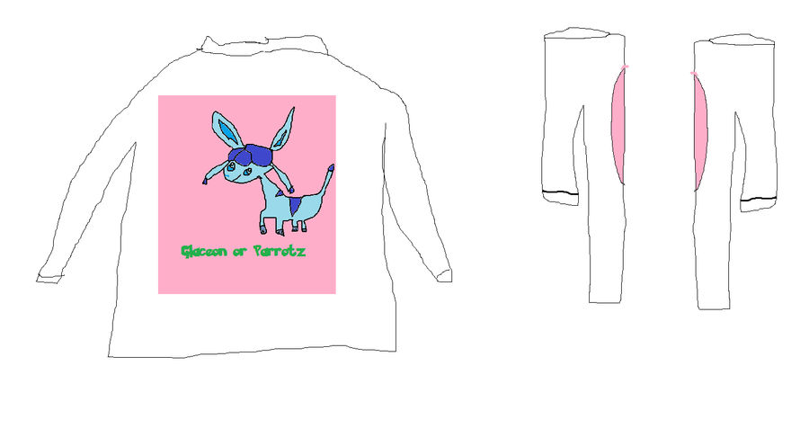 e572e7878 Glaceon Tshirt by parrotz12 on DeviantArt