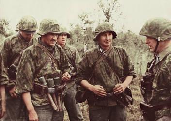 German soldiers 25 by Julia-Koterias