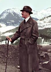Adolf Hitler (in colour) 47 by Julia-Koterias