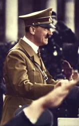 Adolf Hitler (in colour) 48 by Julia-Koterias