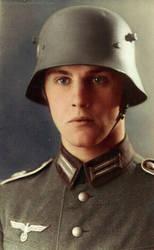 German soldier 28 by Julia-Koterias