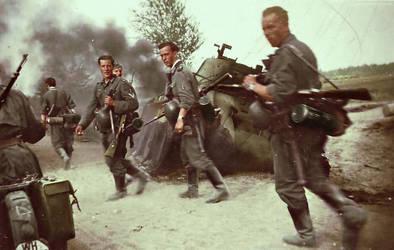 German soldiers 31 by Julia-Koterias