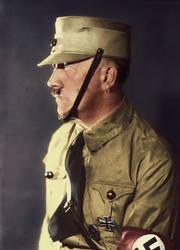 Adolf Hitler (in colour) 51 by Julia-Koterias