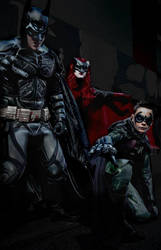 Bat Family by Kate-Kane