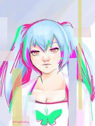 Saiko Yonebayashi by darksapphiredrop