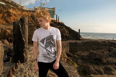 Ghost Ship Jumbo Print t-shirt by bredenius