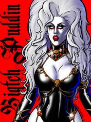 Biqtch Puddin as Lady Death (Dragula Season 2) by bredenius