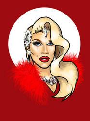 Pearl (RuPaul's Drag Race Season 7) by bredenius