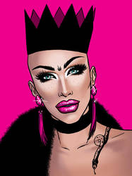 Sasha Velour (RuPaul's Drag Race Season 9) by bredenius