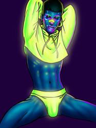 Neon Thots: Alexander (aka Waka Shame) by bredenius