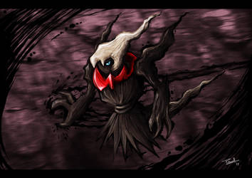 Darkrai by KidScribbles