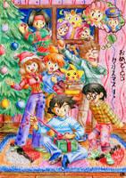 Pokemon Christmas by Ari-chaan