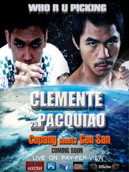 Pacquiao Vs Clemente by Mustang47