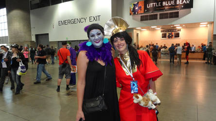 Denver Comic Con 2018 Day 2: Yzma and Kuzco by Mr-Herp-Derp