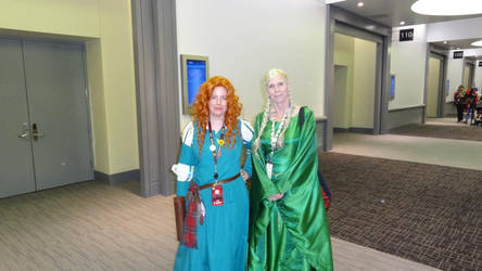 Denver Comic Con 2018 Day 3: Merida and Queen.... by Mr-Herp-Derp