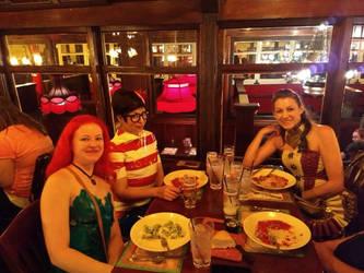Denver Comic Con 2018 extra: Dinner by Mr-Herp-Derp