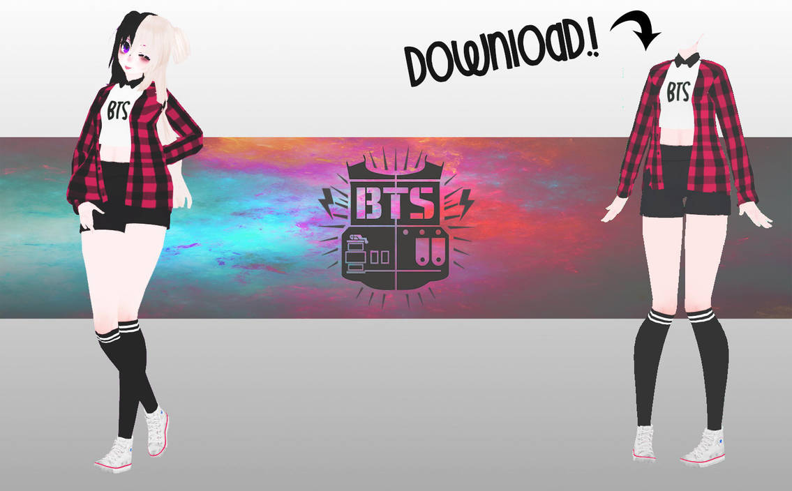 [MMD-BTS ] TDA OUTFIT ( DL -DOWN) By MeiHatter On DeviantArt