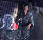 The first full moon (Bleach: Byakuya and phantom) by iris-M