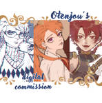 Otenjou's Commission Banner by otenjou