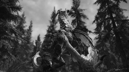 Last Breath Dragon Wallpaper by SeventhLife