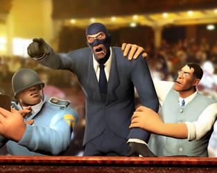 The trial of a Spy by MrRiar