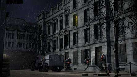 In Warsaw Ghetto by MrRiar