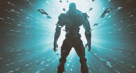 Cyberpunk 2077 Cinema 4D Redshift by botshow