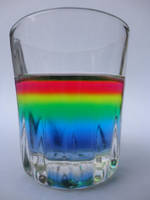 The rainbow colors in my noggin by Maleiva