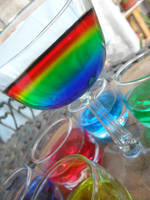 Colors in cups by Maleiva