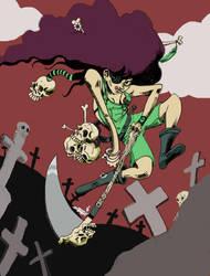 Gravedigger by Bocaho