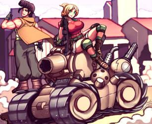 Slug-riding by Gareit0