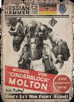 XCOM Recruitment Poster 'Cinderblock' by CoryMcD
