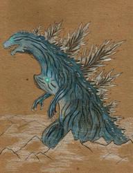Godzilla 2017 ( Spirit Goji ) by skullghidorah2016