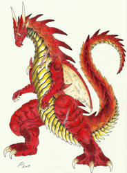 Dragonoid by skullghidorah2016