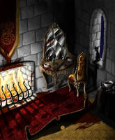 The Room Of Elizabeth Bathory by Izabeth