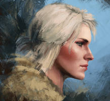 Ciri by Hunternif