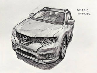 Nissan X-Trail by Hunternif