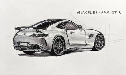 Mercedes-AMG GT R by Hunternif