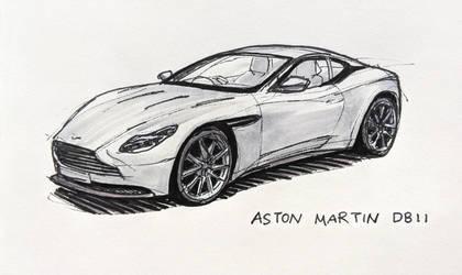 Aston Martin DB11 by Hunternif