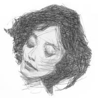 Thoughtful girl by sebastianmartino
