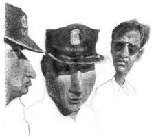 POLICE IN THE SUN by sebastianmartino