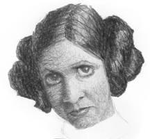 Princess Leia by sebastianmartino