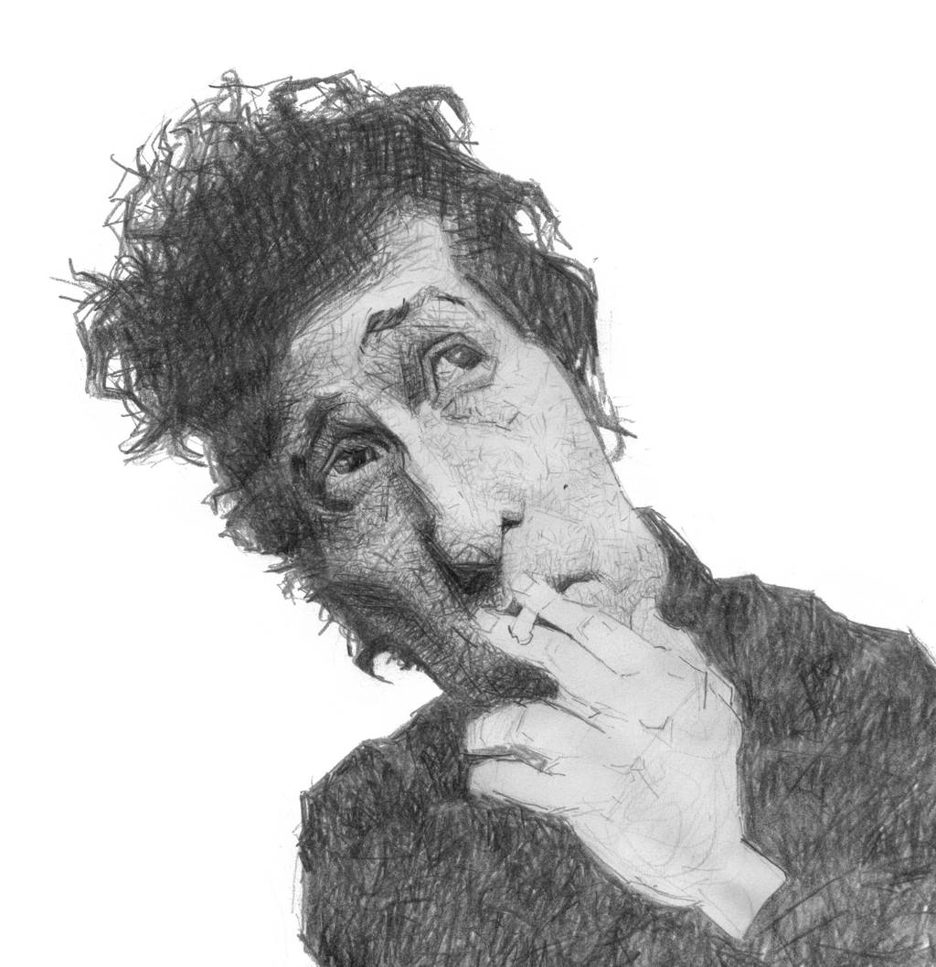 Bob Dylan by sebastianmartino