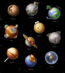 Solar System by centau