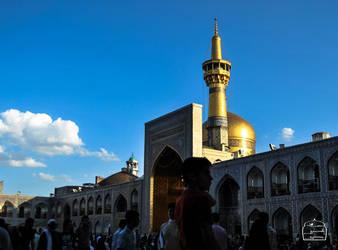 Holy shrine of Imam Reza (as) by HESAM222