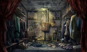 Closet scene by Tai-atari