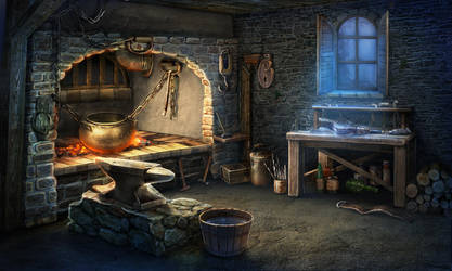 Fireplace by Tai-atari