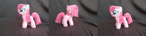 MLP FiM 7 inch handmade plush: Filly Pinkie Pie! by vulpinedesigns